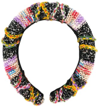 Missoni Colour-Block Knitted Hair Band