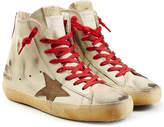 Golden Goose Deluxe Brand Francy Leather High-Top Sneakers