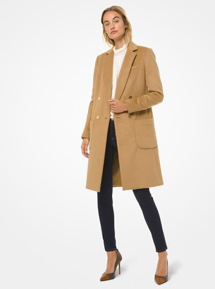 MICHAEL Michael Kors Wool-Blend Double-Breasted Coat