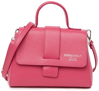 Persaman New York Victoire Leather Shoulder Bag