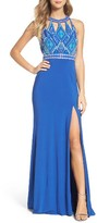 Mac Duggal Women's Embellished Jersey Gown