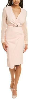 Max Mara Manuel Wool-Blend Sheath Dress