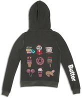 Butter Shoes Girls' Sugar Rush Embellished Hoodie - Sizes S-XL