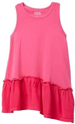 Harper Canyon Mixed Media Racer Back Dress (Toddler, Little Girls, & Big Girls)