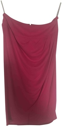 Celine Pink Polyester Skirts