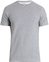 Etro Striped terry-towelling T-shirt