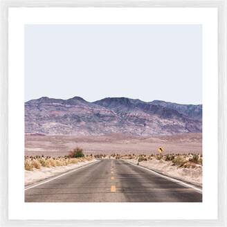 Cooper Black Harley Road Photographic Framed Print