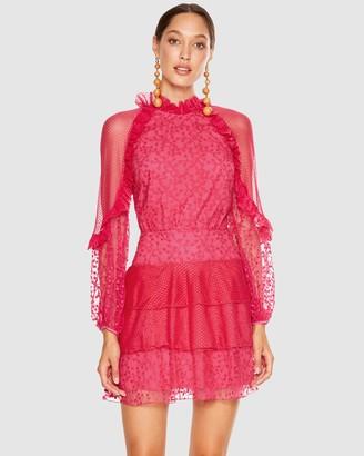 Talulah Fuchsia Delight Mini Dress