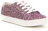 Kenneth Cole Reaction Kenneth Cole New York Girls' Kam Elastic Lace up Sneakers