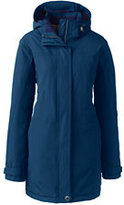 Lands' End Women's Petite Squall Insulated Parka-Neptune Blue