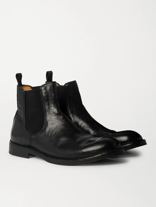 Officine Creative Character Suede Chelsea Boots