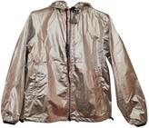 Moncler Silver Cotton Jackets