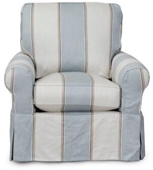Beachcrest Home Rundle Swivel Armchair