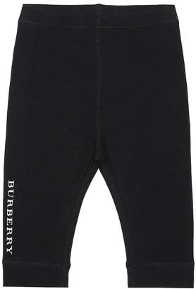 Burberry Baby stretch cotton leggings