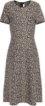 MICHAEL Michael Kors Metallic Jacquard-knit Dress