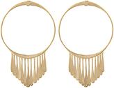 Aurelie Bidermann Vera round gold-plated earrings