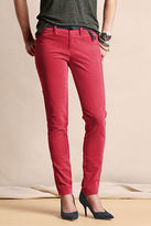 Lands' End Canvas Women's Super Skinny Velvet Pants