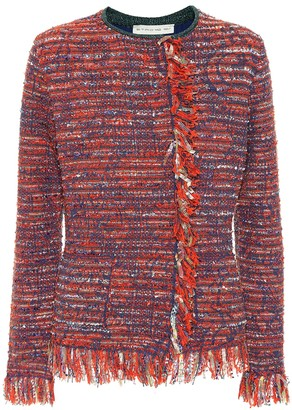 Etro Cotton-blend tweed jacket