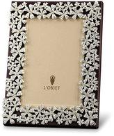 "L'OBJET Garland Swarovski® Crystal Frame, 8x10"""