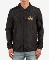 Volcom Men's Brews Logo Waterproof Coaches Jacket
