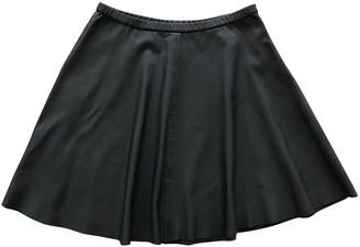 Bruuns Bazaar Black Leather Skirt for Women