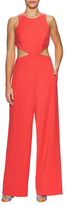 BCBGMAXAZRIA Cut Out Wide Leg Jumpsuit