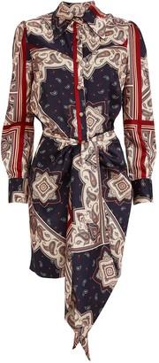 Petersyn Agnes Paisley Mini Dress