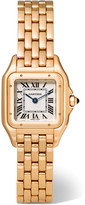 Cartier Panthère De Small 18-karat Pink Gold Watch - Rose gold