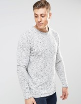 Bellfield Slub Yarn Knitted Sweater