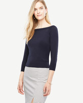 Ann Taylor Off The Shoulder Sweater