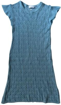 Agnã ̈S B. AgnAs B. Blue Lace Dresses