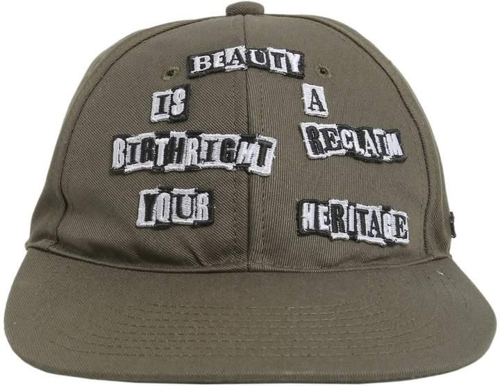 Valentino Punk Poem Baseball Cap