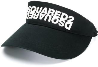 DSQUARED2 Logo Print Visor