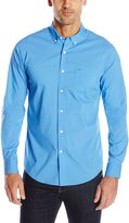 Dockers Long Sleeve Solid Comfort Stretch Woven Shirt