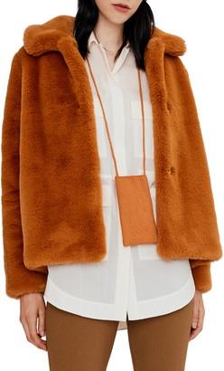 Noize Carly Faux Fur Coat