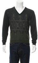 Etro Wool V-Neck Sweater