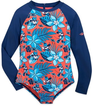 Disney Minnie Mouse Rash Guard Swimsuit for Girls Cruise Line
