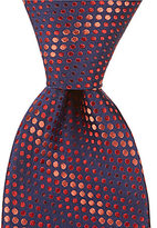 Murano Bubble Stripe Traditional Silk Tie