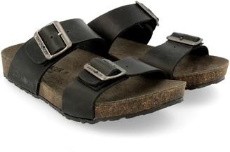 Haflinger Unlined Men's Slide Sandals - Andrea