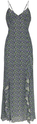 Les Rêveries floral-print cami maxi-dress