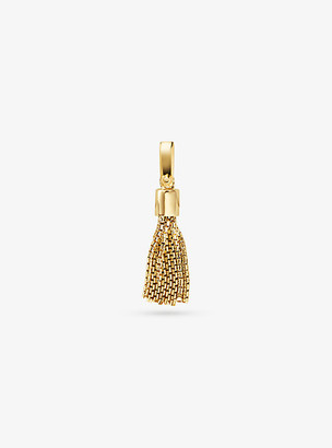 Michael Kors 14K Gold-Plated Sterling Silver Tassel Charm