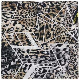 Preen by Thornton Bregazzi Leopard Printed Scarf