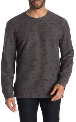 Threads 4 Thought Westward Crew Neck Printed Pullover