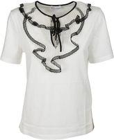 RED Valentino Lace Bib T-shirt