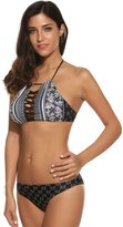 Avidlove Womens Cut out Lace Up Bikini Set Vintage Halter Padding Bathing Suit