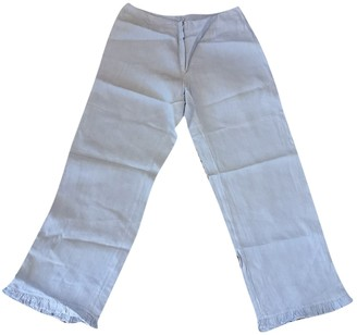 120% Lino Linen Trousers for Women