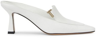 Lafayette 148 New York Ciara Leather Loafer Mules