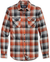 American Rag Men's Heavyweight Flannel Shirt, Only at Macy's