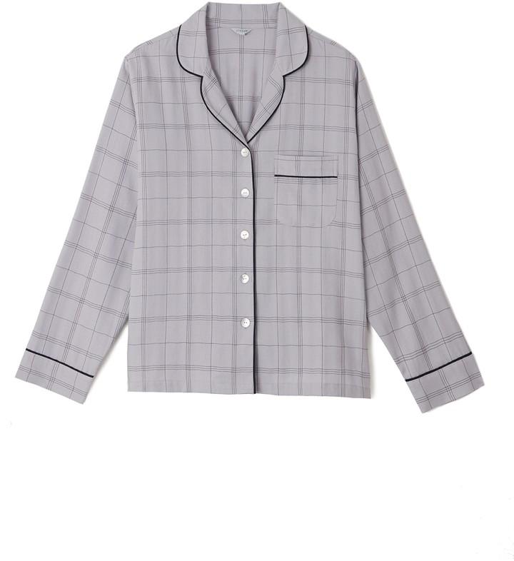 Jigsaw Dani Check Pyjamas Cotton