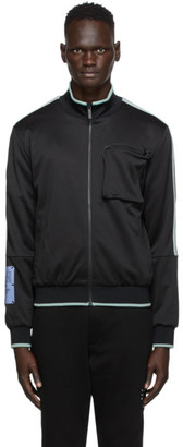 McQ Black Pocket Track Jacket